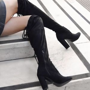 Pied A Terre Over the Knee Boots